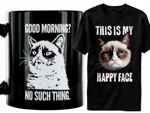 Gadgets col gatto Grumpy