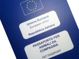 Passaporto europeo per animali domestici