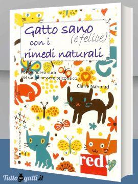 Libro: Gatto sano (e felice) con i rimedi naturali